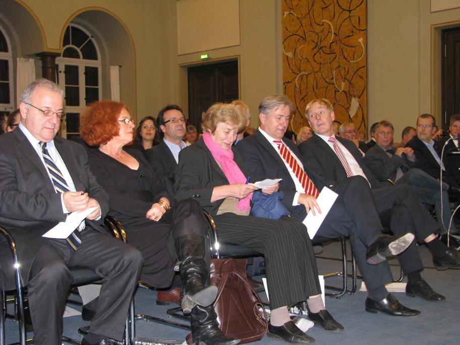 Herr Kolat, Anetta Kahane, Barbara John, Günter Piening