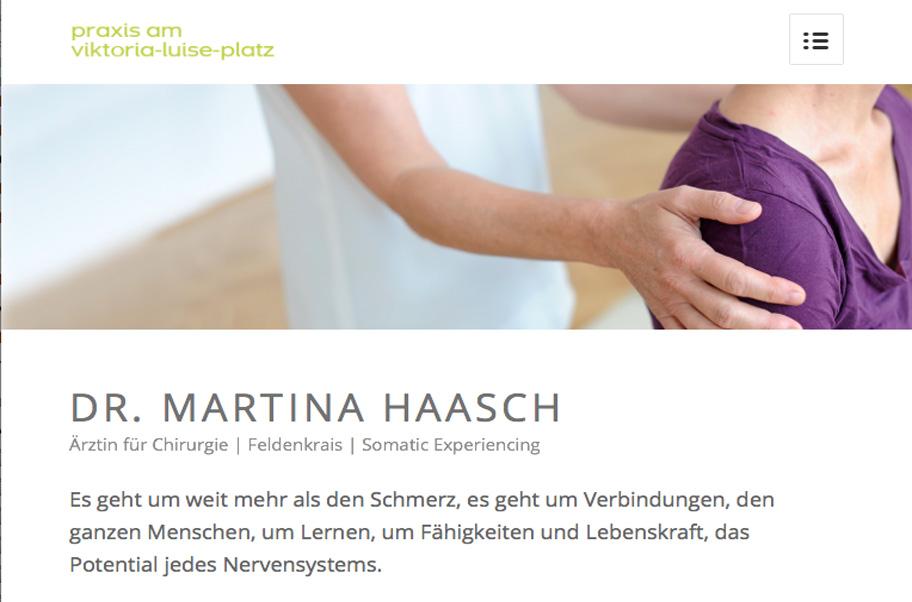 Werbetexter Berlin für die Praxis Dr. Martina Haasch
