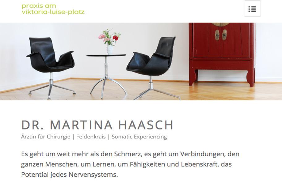 Werbetexter Berlin für die Feldenkrais Praxis Dr. Martina Haasch